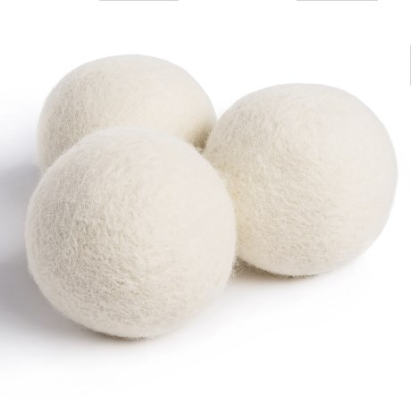 Woolzies Dryer Balls - New Zealand Wool, 3-Pack