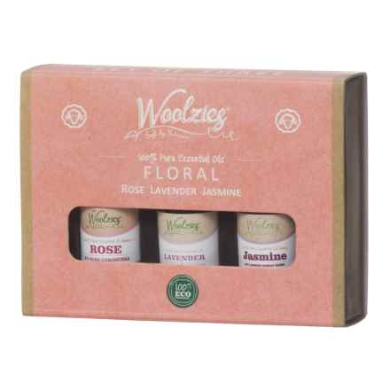 Woolzies Floral Essential Oils - Set of 3 in See Photo - Closeouts