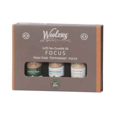 Woolzies Focus Essential Oils - Set of 3 in See Photo - Closeouts