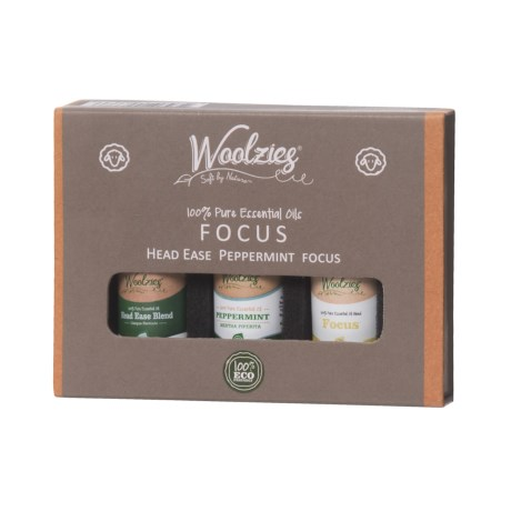 Woolzies Focus Essential Oils - Set of 3 in See Photo