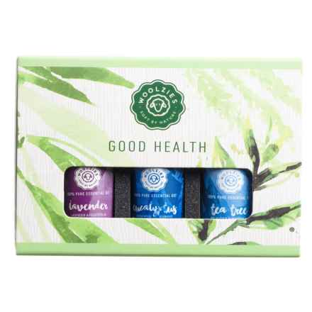 Woolzies Good Health Essential Oils - Set of 3 in See Photo - Closeouts