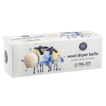 Woolzies New Zealand Wool Dryer Balls - 3-Pack in White - Closeouts
