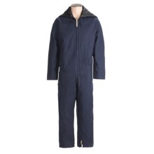 Work King Heavyweight 2-Zip Coveralls - Insulated, Full Zip (For Men) in Navy - Closeouts