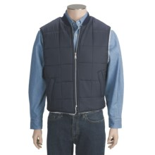 Work King Nylon Vest - Sherpa Lined (For Men) in Navy - Closeouts