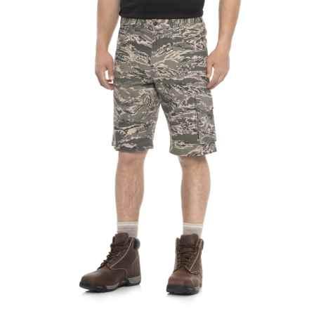 Work King Twill Camo Cargo Shorts (For Men) in Digital Camo - Closeouts