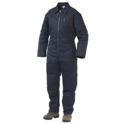 Work King Twill Coveralls - Insulated (For Big and Tall Men) in Navy