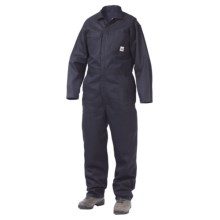Work King Twill Coveralls - Unlined, Long Sleeve (For Men) in Navy - 2nds