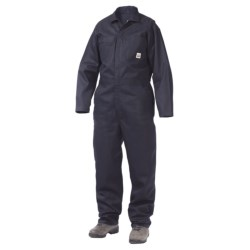 Work King Twill Coveralls - Unlined, Long Sleeve (For Men) in Navy