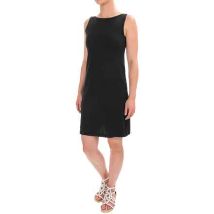 Workshop Dresses A-Line Jersey Dress - Sleeveless (For Women) in Black - Closeouts