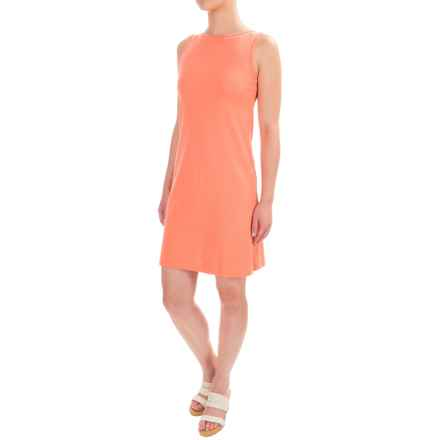 Workshop Dresses A-Line Jersey Dress - Sleeveless (For Women) in Day Lily - Closeouts