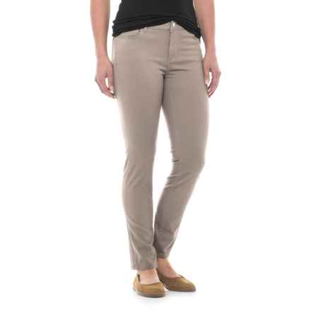 Workshop Republic Clothing Ankle Pants - Cotton Blend (For Women) in Dune - Closeouts