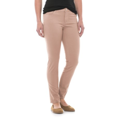Workshop Republic Clothing Ankle Pants - Cotton Blend (For Women) in Tea Rose