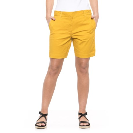 Workshop Republic Clothing Chino Shorts (For Women) in Dijon