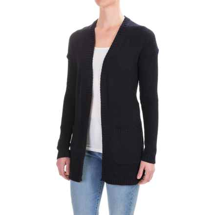 Workshop Republic Clothing Open-Front Cardigan Sweater (For Women) in Nightlife - Closeouts
