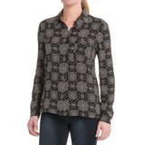 Workshop Republic Clothing Printed Button Shirt - Long Sleeve (For Women)