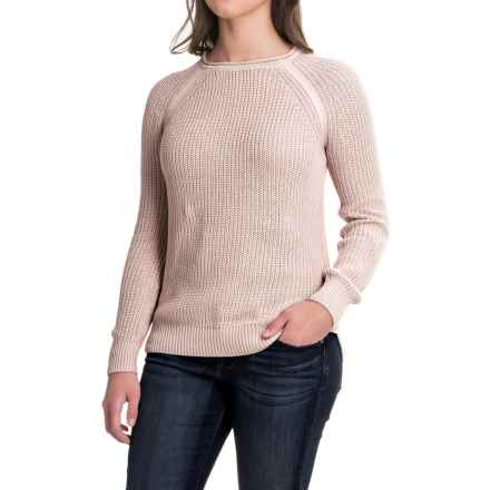 Workshop Republic Clothing Raglan Sweater (For Women) in Coco Powder - Closeouts