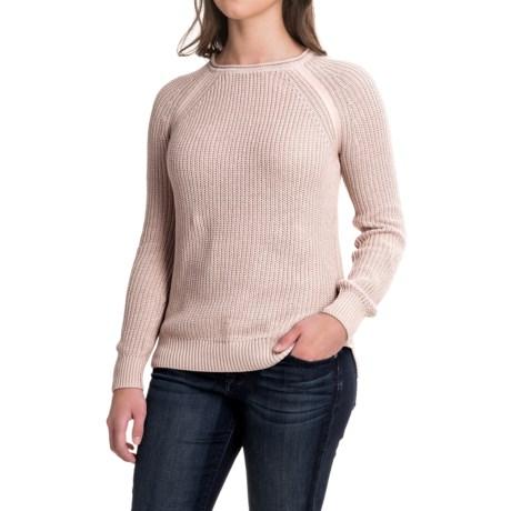 Workshop Republic Clothing Raglan Sweater (For Women) in Coco Powder