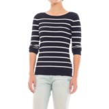Workshop Republic Clothing Striped Sweater (For Women)