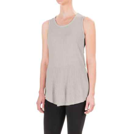 Workshop Republic Clothing Textured Tank Top (For Women) in Grey - Closeouts
