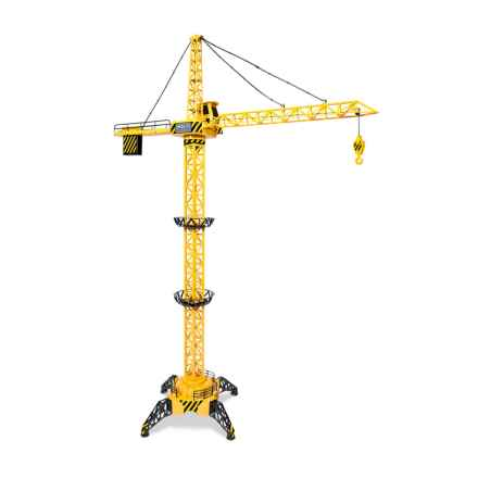 World Tech Toys Big Kid's Construction Motorized Remote-Controlled Crane - 4' in See Photo - Closeouts