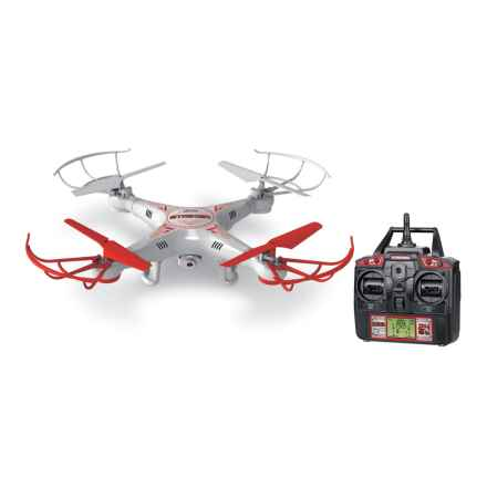 World Tech Toys Striker Remote-Controlled Spy Quad Camera Drone - 2.4 GHz, 4.5 CH in See Photo - Closeouts