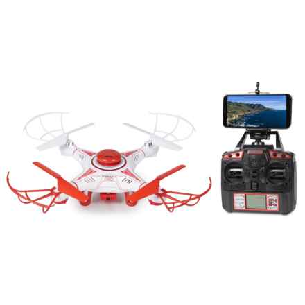 World Tech Toys Striker X-Pro HD 720P Camera Drone - 2.4 GHz, 4.5 CH in See Photo - Closeouts