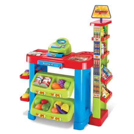 World Tech Toys Supermarket Cash Register & Scanner Playset - 47-Pieces in See Photo - Closeouts