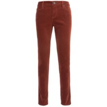 Worn Cee Cee Skinny Jeans - Pinwale Corduroy (For Women) in Henna - Closeouts