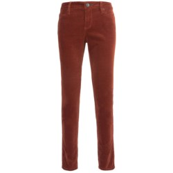 Worn Cee Cee Skinny Jeans - Pinwale Corduroy (For Women) in Henna