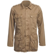 Worn Field Jacket - Cotton (For Men) in British Khaki - Closeouts
