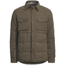 Worn Miller Shirt Jacket - Insulated, Cotton Lining (For Men) in Olive - Closeouts