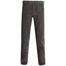 Worn Octane Corduroy Jeans - Straight Leg (For Men) in Grey Lake - Closeouts