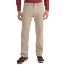Worn Octane Stretch Vintage Twill Jeans - Straight Leg (For Men) in Khaki - Closeouts