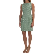Woven Cotton Dress - Sleeveless (For Women) in Green Geo - 2nds