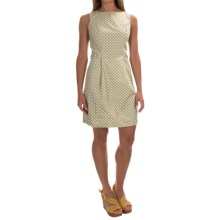 Woven Cotton Dress - Sleeveless (For Women) in Yellow Geo - 2nds