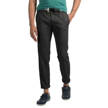 Woven Dress Pants (For Men) in Black - 2nds