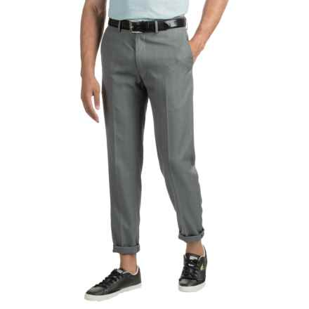 Woven Dress Pants (For Men) in Grey - 2nds