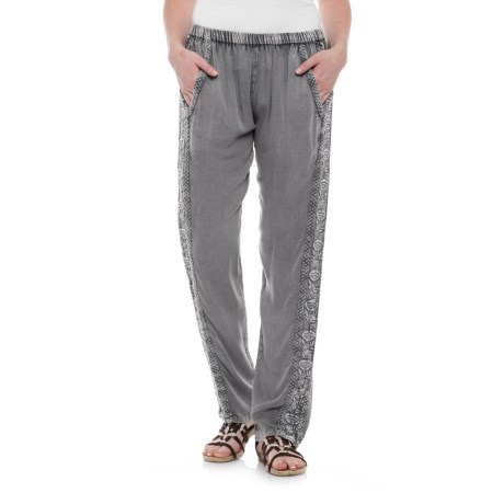 Woven Joggers (For Women)