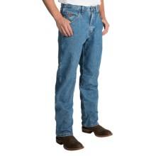 Wrangler 20X 22 Jeans - Original Fit, Tapered Leg (For Men) in Medium Stonewash - 2nds