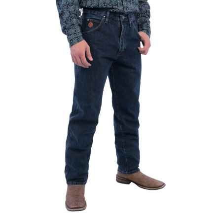 Wrangler 20X 22 Jeans - Original Fit, Tapered Leg (For Men) in Stonewash - 2nds