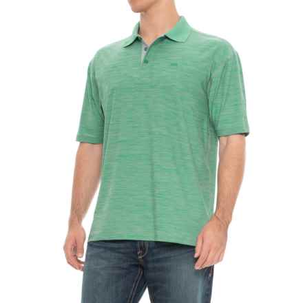 Wrangler 20X Advanced Comfort Polo Shirt - Short Sleeve (For Men) in Green - Overstock