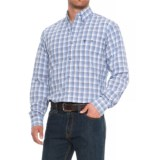 Wrangler 20X Competition Advanced Comfort Plaid Shirt - Long Sleeve (For Men)