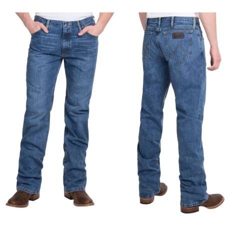 Wrangler 20X Competition Slim Jeans - Low Rise, Bootcut (For Men) in Payson