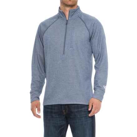 Wrangler 20X Cool Vantage Shirt - Zip Neck, Long Sleeve (For Men) in Grey - Overstock