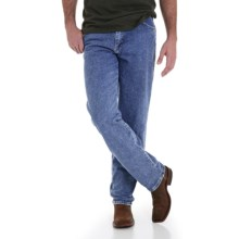 Wrangler 20X Denim Jeans - Relaxed Fit (For Men) in Medium Stonewash - 2nds