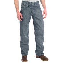 Wrangler 20X No. 33 Extreme Relaxed Fit Jeans - Straight Leg (For Men) in Bleach Wash - 2nds