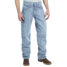 Wrangler 20X No. 33 Extreme Relaxed Fit Jeans - Straight Leg (For Men) in Blue Frost - 2nds