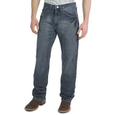 Wrangler 20X No. 33 Extreme Relaxed Fit Jeans - Straight Leg (For Men) in Vintage Midnight - 2nds