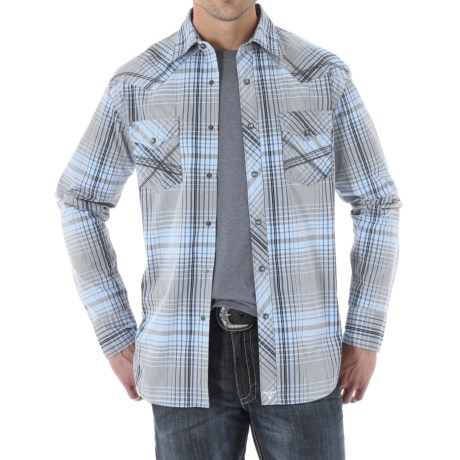 Wrangler 20X Woven Shirt Snap Front, Long Sleeve (For Men)