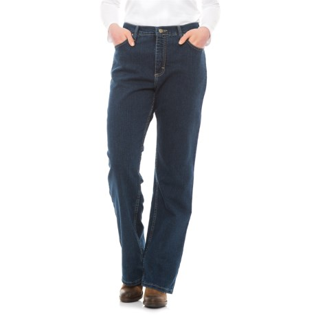 Wrangler As Real As Jeans - Relaxed, Fit Straight Leg (For Women) in Riversand